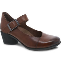 Dansko Women's Roxanne Burnished Calf Leather MJ Shoe