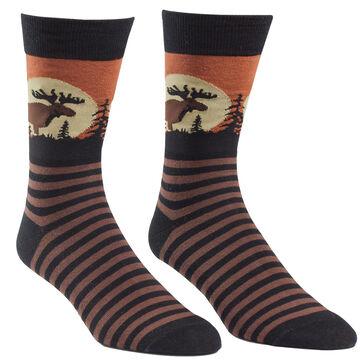 Sock It To Me Mens Moose Sock