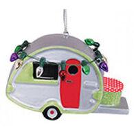 Cape Shore Teardrop Camper Ornament