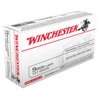 Winchester USA 9mm Luger 147 Grain JHP Handgun Ammo (50)