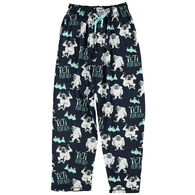 Lazy One Men's Yeti PJ Pant