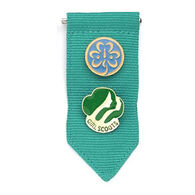 Girl Scouts Official Junior Insignia Tab