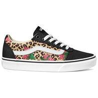 Vans Women's Ward Cheetah Palms Canvas Sneaker