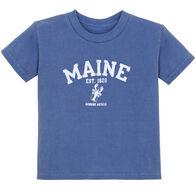 Lakeshirts Toddler Stately Lobster Short-Sleeve T-Shirt