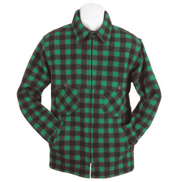 Johnson Woolen Mills Mens Wool Jacket