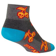 SockGuy Women's Scary Cherry Sock
