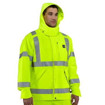 Carhartt Mens High-Visibility Class 3 Waterproof Jacket