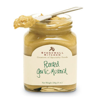 Stonewall Kitchen Mini Roasted Garlic Mustard 3.5 oz.