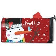 MailWraps Winter Happiness Magnetic Mailbox Cover