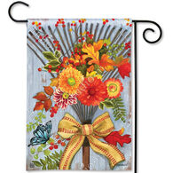 BreezeArt Time To Rake Decorative Garden Flag
