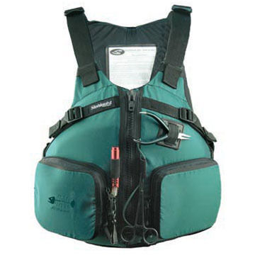 Stohlquist PiSEAs High-Back Fishing PFD - Discontinued Model