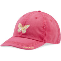 Life is Good Women's Mosaic Butterfly Sunwashed Chill Cap
