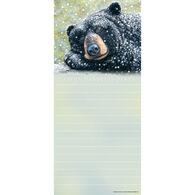 Pumpernickel Press Bear Dreams Magnetic List Notepad