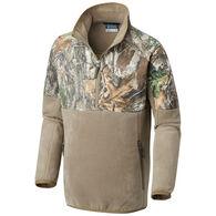 Columbia Boy's PHG Overlay Half-Zip Fleece Pullover
