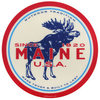 Blue 84 Speedster Moose Maine Sticker