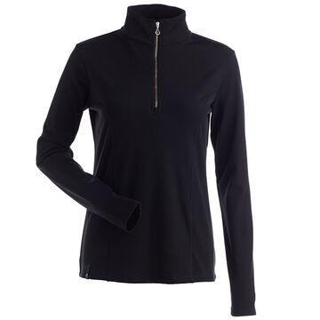 NILS Womens Robin Quarter-Zip Turtleneck Long-Sleeve Top