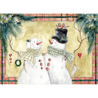 LPG Greetings Snowman Couple Boxed Christmas Cards