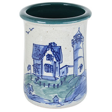 Great Bay Pottery Handmade Ceramic Spoon Jar
