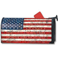MailWraps Pledge Of Allegiance Magnetic Mailbox Cover