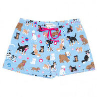 Hatley Women's Cute Pups Sleep Short