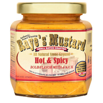 Rayes Mustard Hot & Spicy Mustard