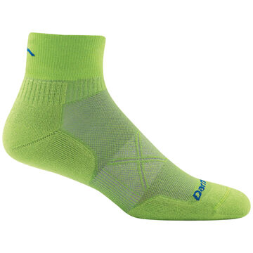 Darn Tough Vermont Mens Running Ultra-Light Cushion 1/4 Sock