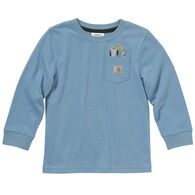 Carhartt Boy's Tool Pocket Long-Sleeve Shirt
