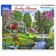 White Mountain Jigsaw Puzzle - Sunday Afternoon