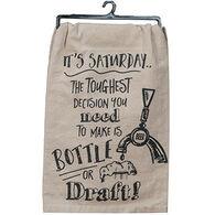 Kay Dee Designs Bottle Or Draft Flour Sack Towel
