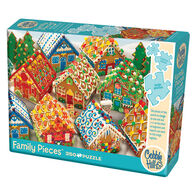 Outset Media Jigsaw Puzzle - Gingerbread Houses
