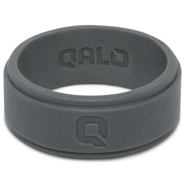 Qalo Mens Step Edge Q2X Silicone Ring