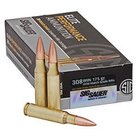 SIG Sauer Elite Performance Match 308 Win 175 Grain OTM Rifle Ammo (20)
