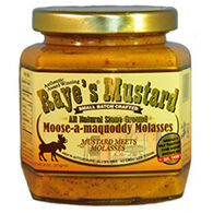Raye's Mustard Moose A Maquoddy Molasses Mustard