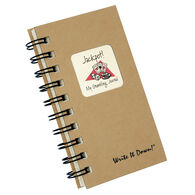 "Journals Unlimited ""Write it Down!"" Mini-Size My Gambling Journal"