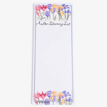 Hatley Little Blue House Another Blooming List Magnetic List Notepad