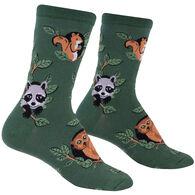 Sock It To Me Women's Woodland Watchers Crew Sock