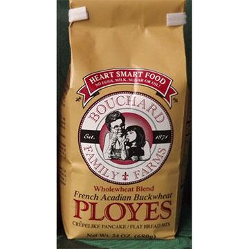 Bouchard Family Farm Ployes Mix - Whole Wheat Recipe - 1.5 lb