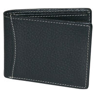 Buxton Men's Dopp Hudson RFID Front Pocket Slimfold Wallet