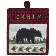 Kay Dee Designs Woodland Bear Embroidered Pocket Mitt