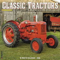 Willow Creek Press Classic Tractors 2019 Wall Calendar