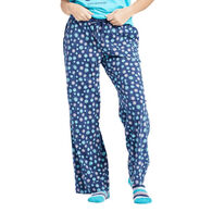 Life is Good Women's Floral Element Print Snuggle Up Sleep Pant