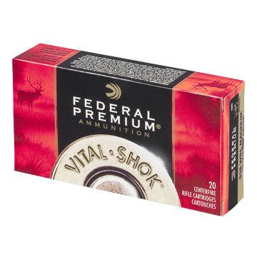 Federal Premium Vital-Shok 260 Remington 140 Grain Sierra GameKing BTSP Rifle Ammo (20)