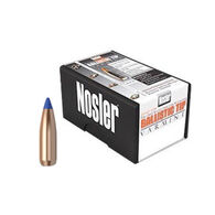 "Nosler Ballistic Tip Varmint 25 Cal. 85 Grain .257"" Spitzer Point / Blue Tip Rifle Bullet (100)"