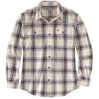 Carhartt Men's Original Fit Flannel Plaid Long-Sleeve Shirt