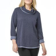 Habitat Women's Cowl Pullover Long-Sleeve Shirt