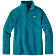 Patagonia Girls' Better Sweater 1/4-Zip Long-Sleeve Fleece Shirt