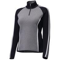 Descente Women's Eden Half-Zip Long-Sleeve Sweater