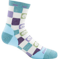 Darn Tough Vermont Girls' Emoticons Crew Light Sock