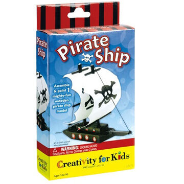 Faber-Castell Pirate Ship Craft Set