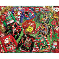 White Mountain Jigsaw Puzzle - Ugly Christmas Sweaters